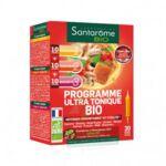 Santarome Bio Programme Ultra Tonique Solution Buvable 30 Ampoules/10ml à LILLE